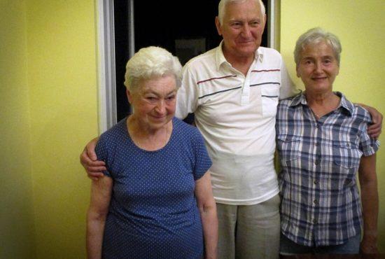 Pani Doktor ze swoim bratem Zbigniewem i jego żoną