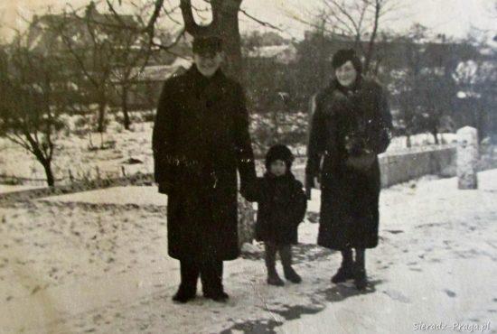 z Rodzicami Eleonorą i Józefem. Sieradz Luty 1939 r