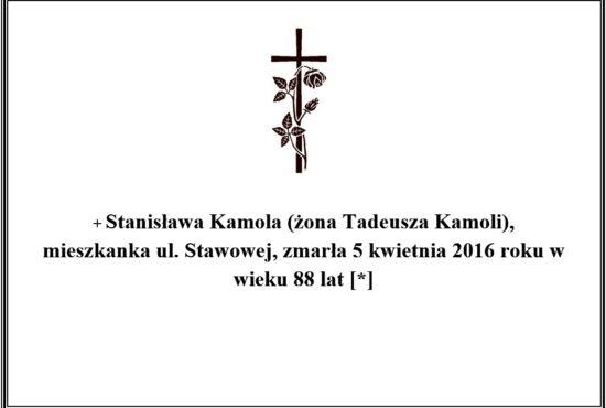 Stanisława kamola