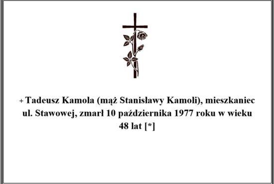 Tadeusz Kamola